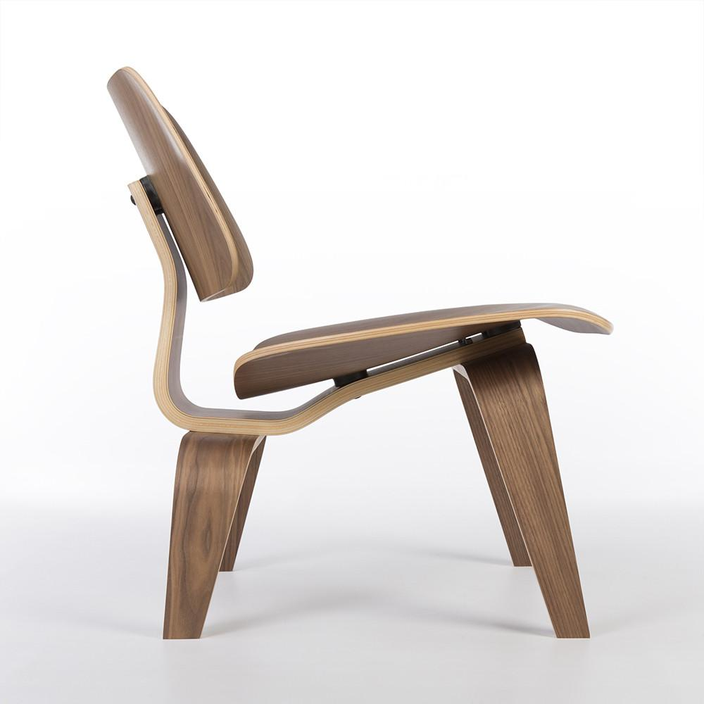 Wooden 2010s Herman Miller Eames LCW - Ply Lounge Chair Wood