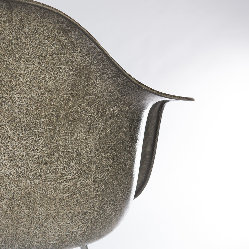 Elephant Hide Grey 1950 Zenith Plastics Eames DAX (& Variants) Arm