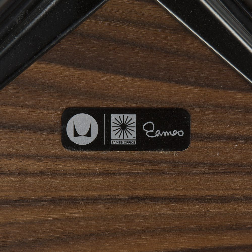 White 2010s Herman Miller Eames Lounge Chair & Ottoman