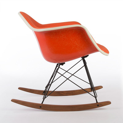 Later 60's RAR rocking arm chair side view