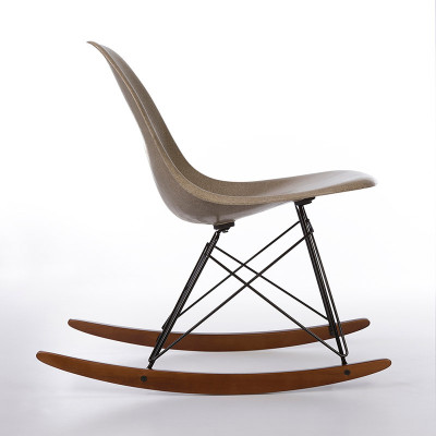 Side view of Eames RSR side rocking chair