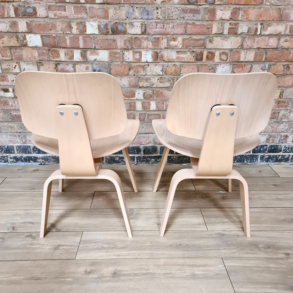 Wooden 2010s Herman Miller Eames DCW - Ply DiningChair Wood