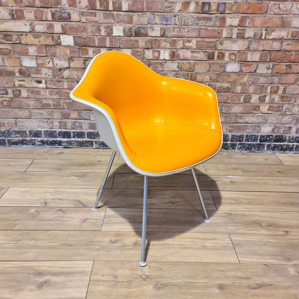 Yellow Herman Miller Eames DAX (& Variants) Arm