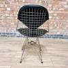 Black 2018 Herman Miller Eames DKR - Eiffel Wire Side thumbnail