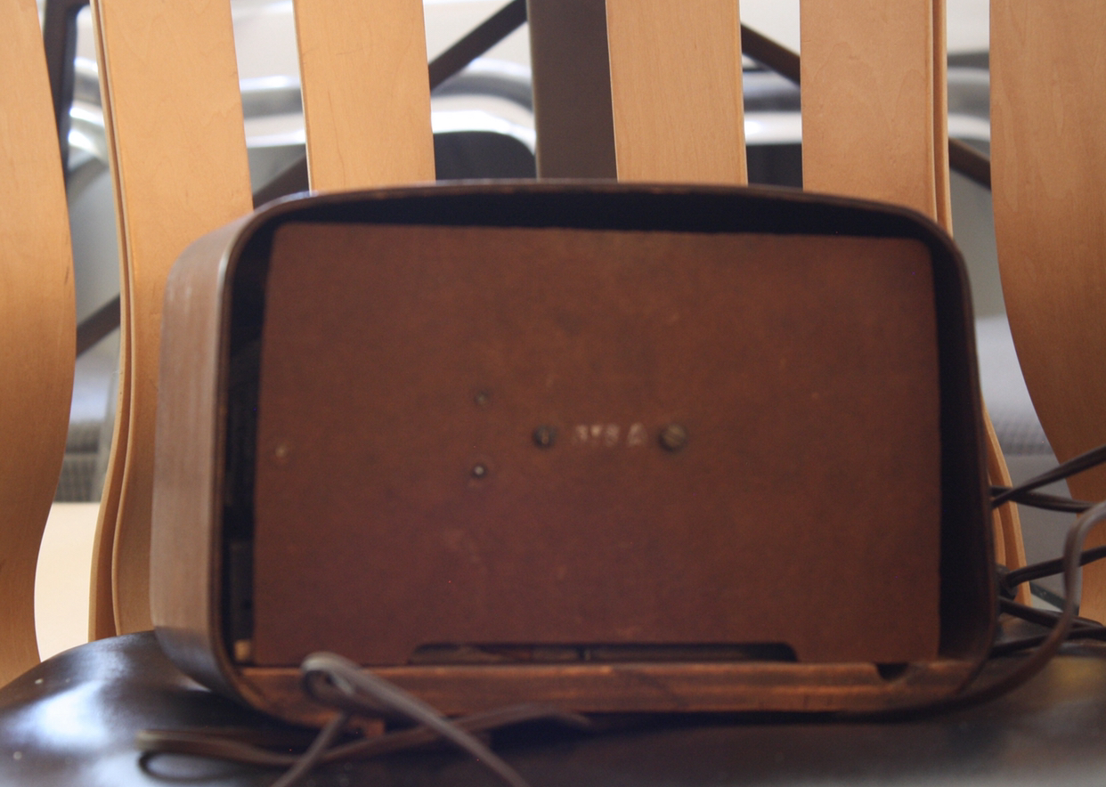 Tan Dark Brown 1940s Eames Eames Plywood Radios