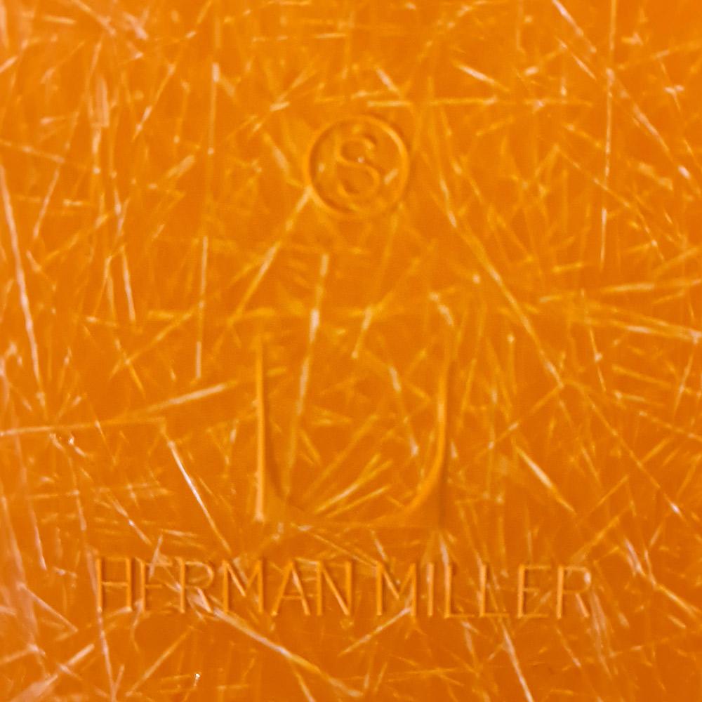 Tan Light Brown 1980s Herman Miller Eames RAR Rocking Arm