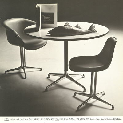 1964 Herman Miller brochure page of the La Fonda range