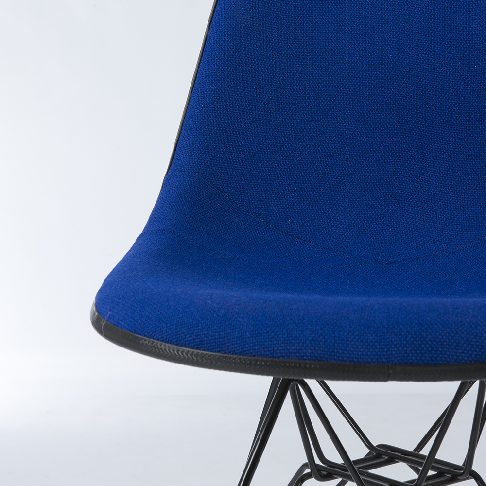 Navy Blue 1970s Herman Miller Eames DSR Eiffel Side
