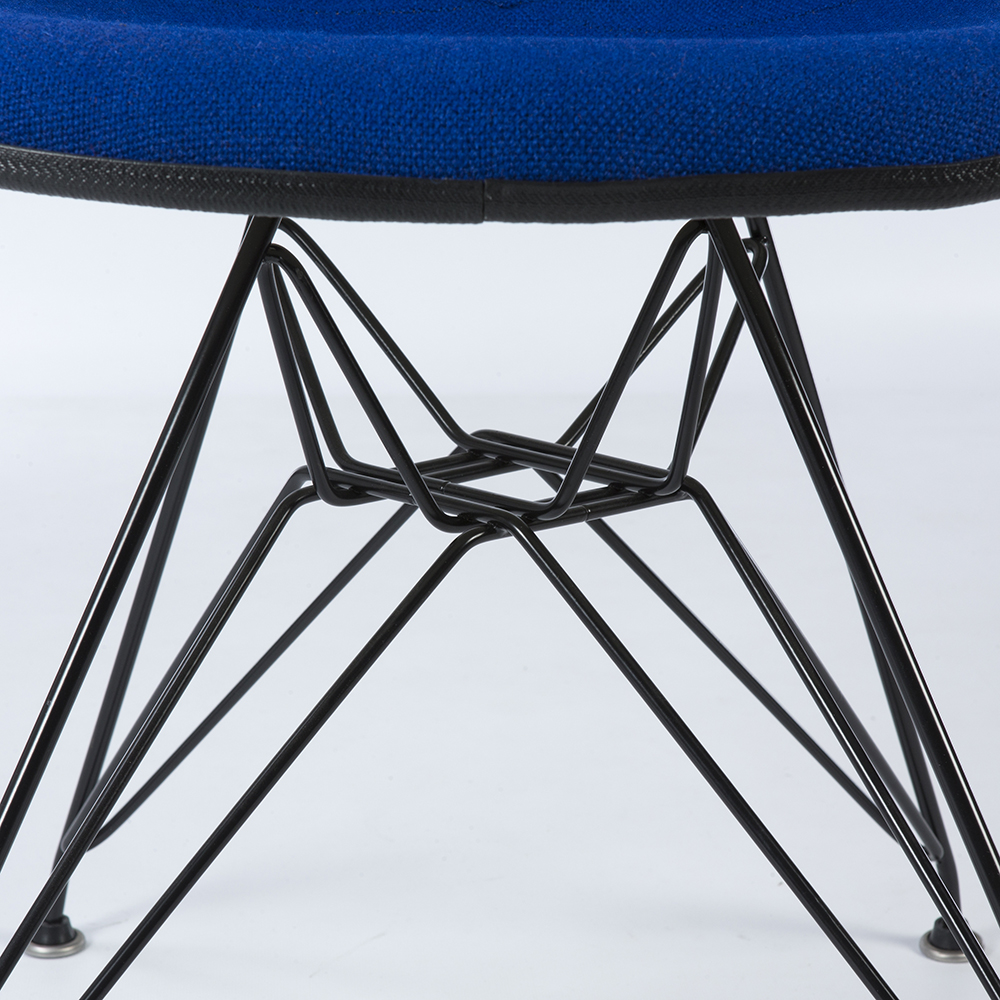 Navy Blue 1970s Herman Miller Eames DSR Eiffel Side