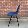 Blue 1970s Herman Miller Eames DSW Dowel Side thumbnail