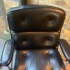 Black 1970s Herman Miller Eames Time Life Executive Chair thumbnail