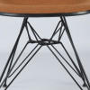 Orange 1960s Herman Miller Eames DSR Eiffel Side thumbnail