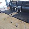 Black 1958 Vitra Eames Soft Pad low Back Side Chair thumbnail
