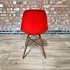 Red Herman Miller Eames DSW Dowel Side thumbnail