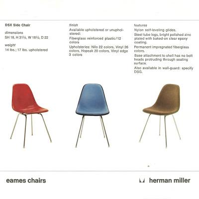 1977 Herman Miller DSX catalog page