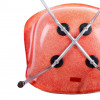 Red Orange 1953 Zenith Plastics Eames DAX (& Variants) Arm thumbnail