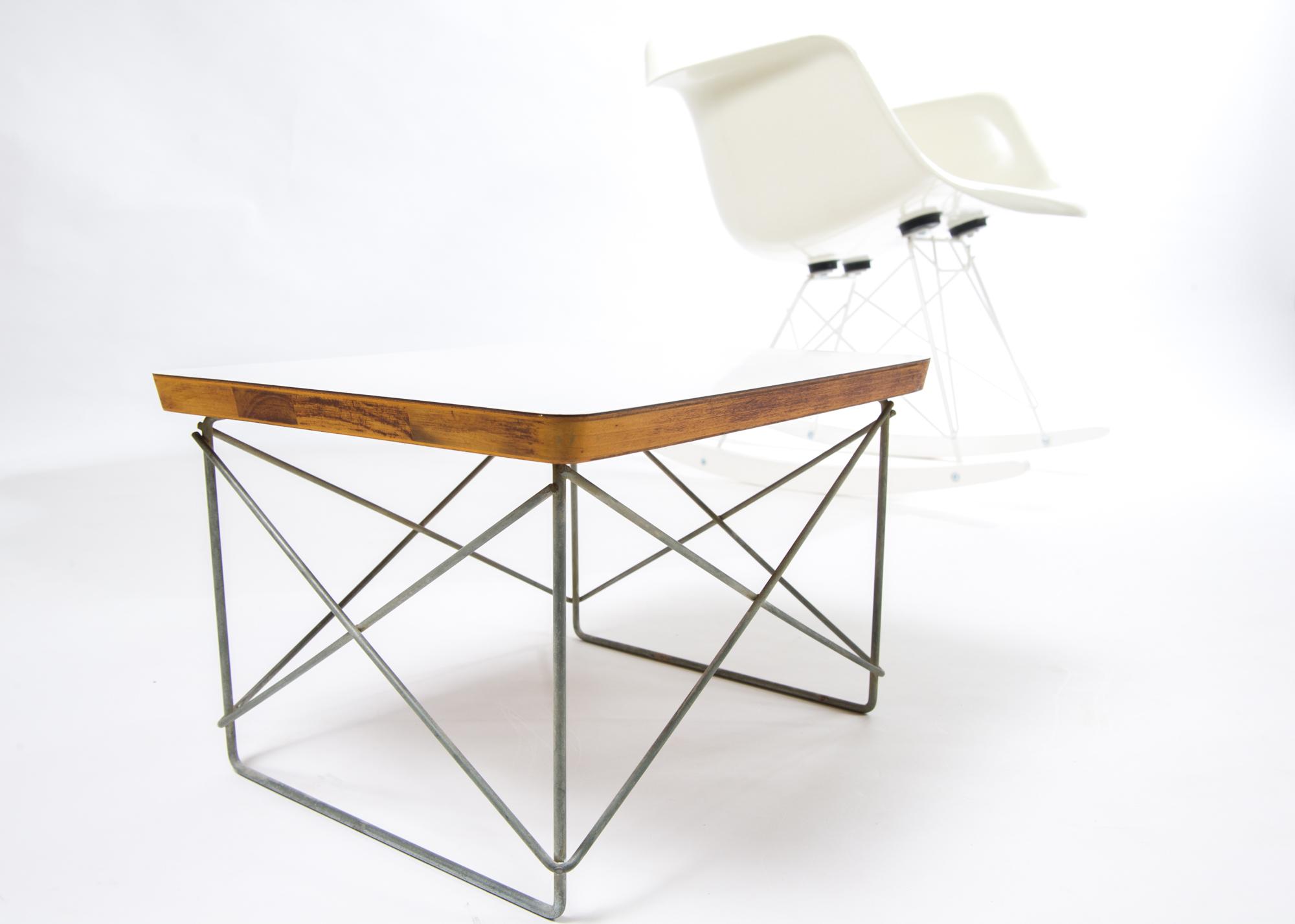 1950s Herman Miller Eames LTR Side Table