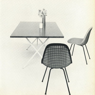 1952 Herman Miller vintage advert DKR