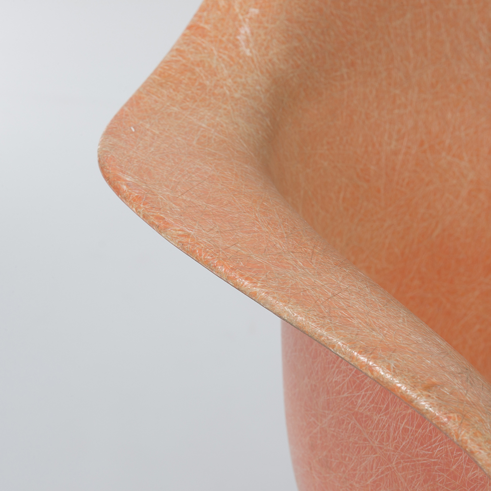 Salmon Orange 1950s Zenith Plastics Eames DAX (& Variants) Arm