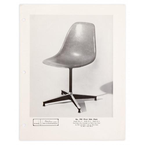 Eames PSC Pivot Chair - 1956