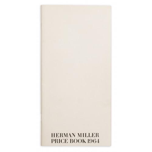 Herman Miller Price Book - 1964