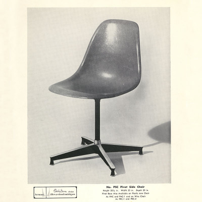 1954 Herman Miller Vintage PSC Advert