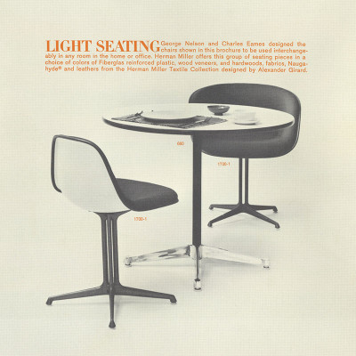 1963 Herman Miller vintage La Fonda series advert