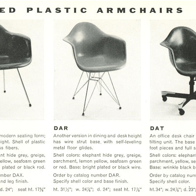 1955 original Herman Miller Vintage Advert