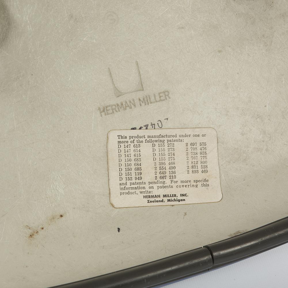 Blue 1970s Herman Miller Eames La Fonda Arm