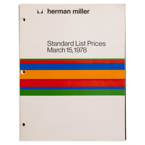 Standard List Prices - 1978