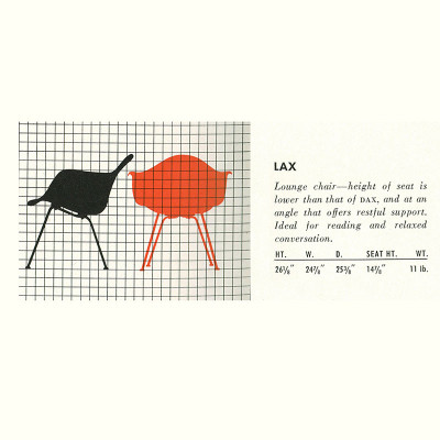 1952 Herman Miller Brochure LAX Specification Page
