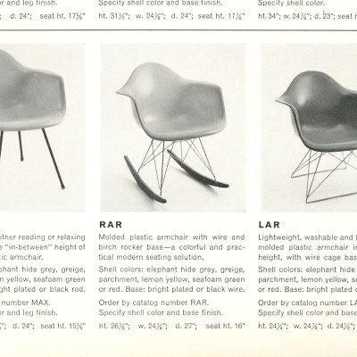 1955 Herman Miller Catalog RAR extract specs