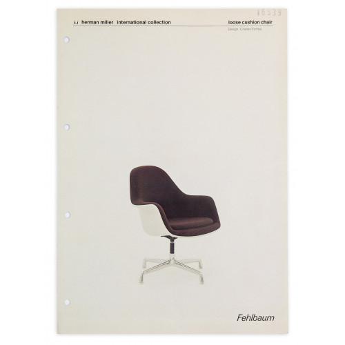Loose Cushion Chair – Fehlbaum